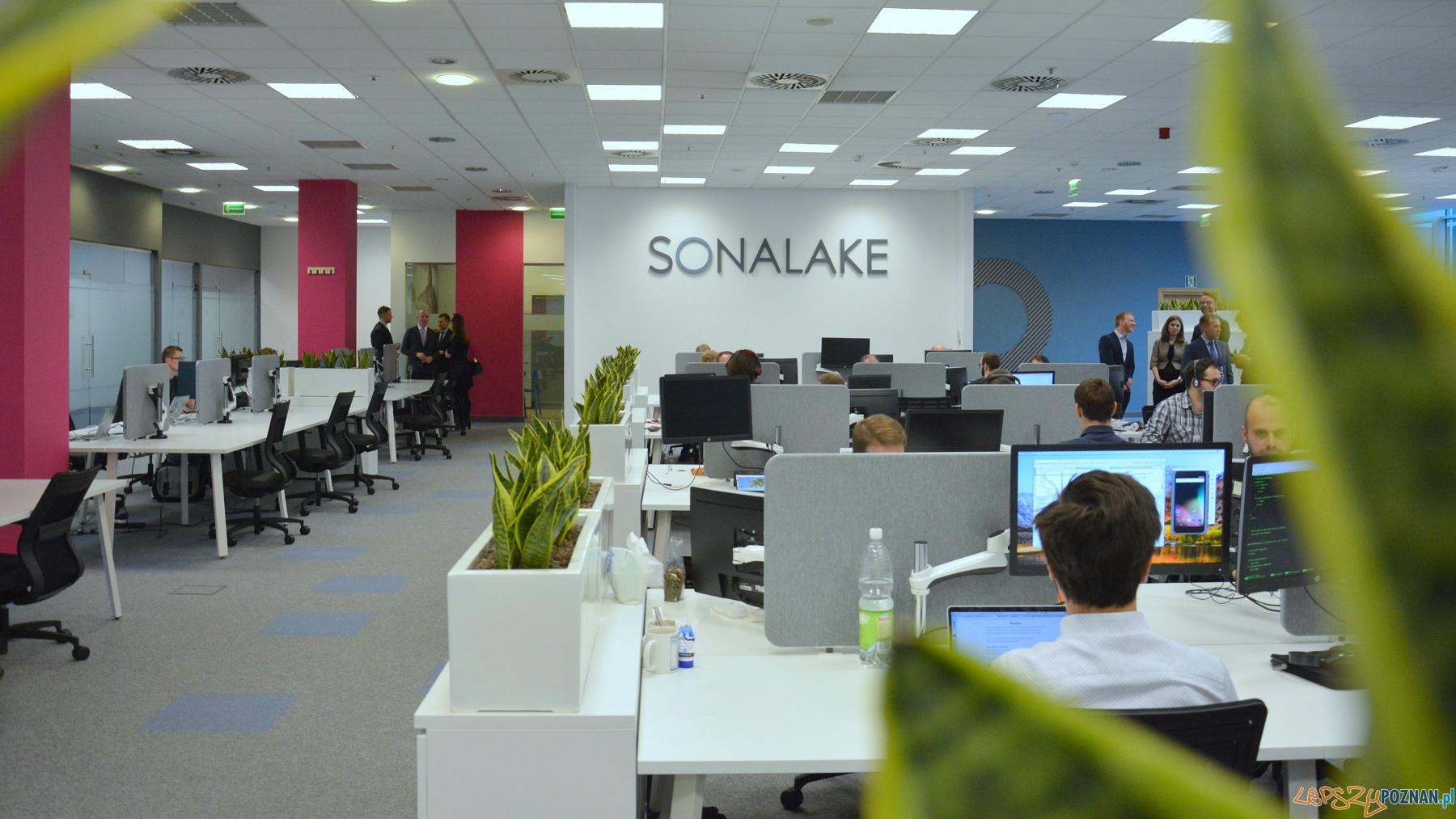 Otwarcie biura spółki Sonalake  Foto: UMP