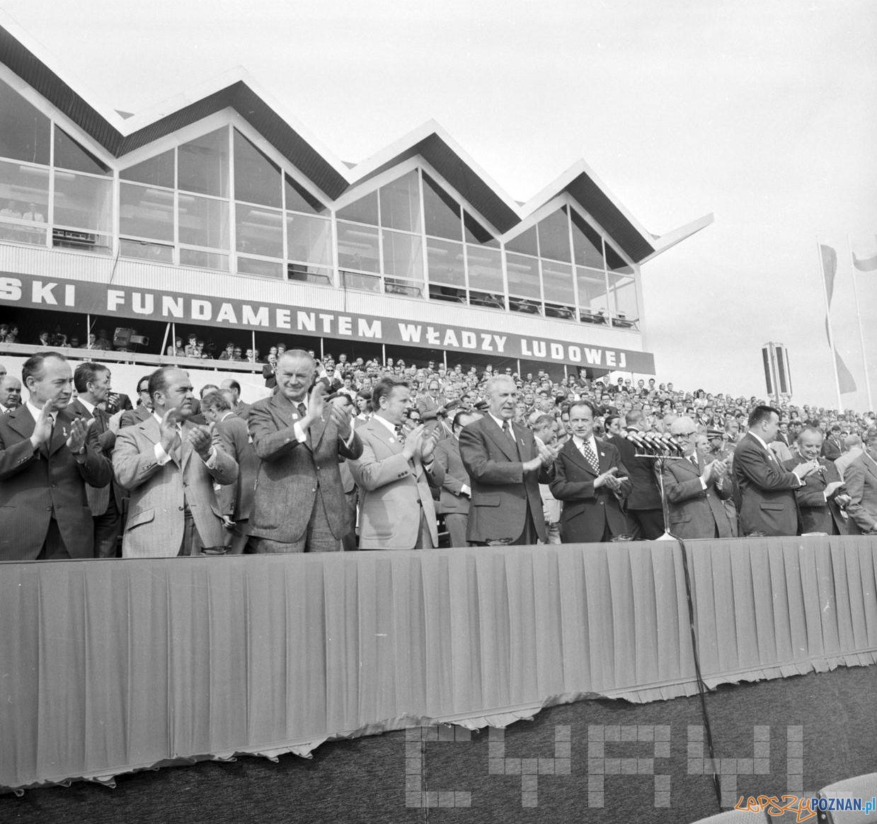 Centralne Dożynki Edward Gierek - 8.09.1974  Foto: