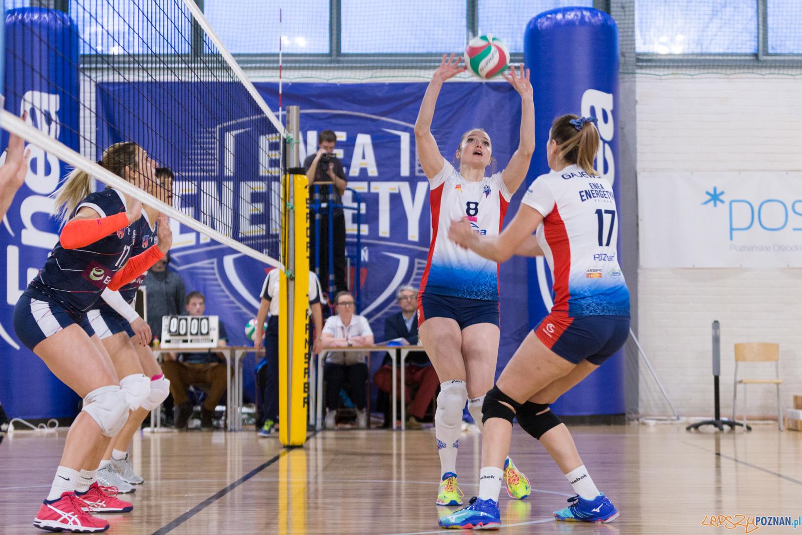 Enea Energetyk Poznań - Energa MKS Kalisz  Foto: lepszyPOZNAN.pl/Piotr Rychter
