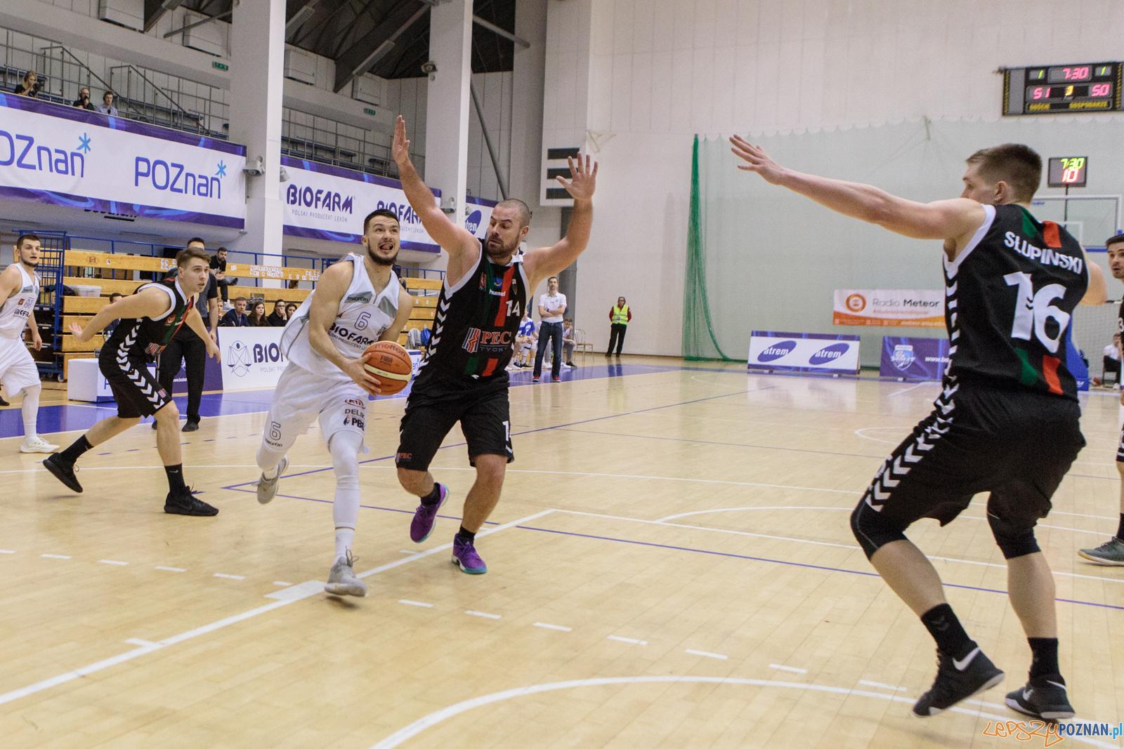 Biofarm Basket Poznań - GKS Tychy 87:93 - Poznań 27.01.2018 r.  Foto: LepszyPOZNAN.pl / Paweł Rychter