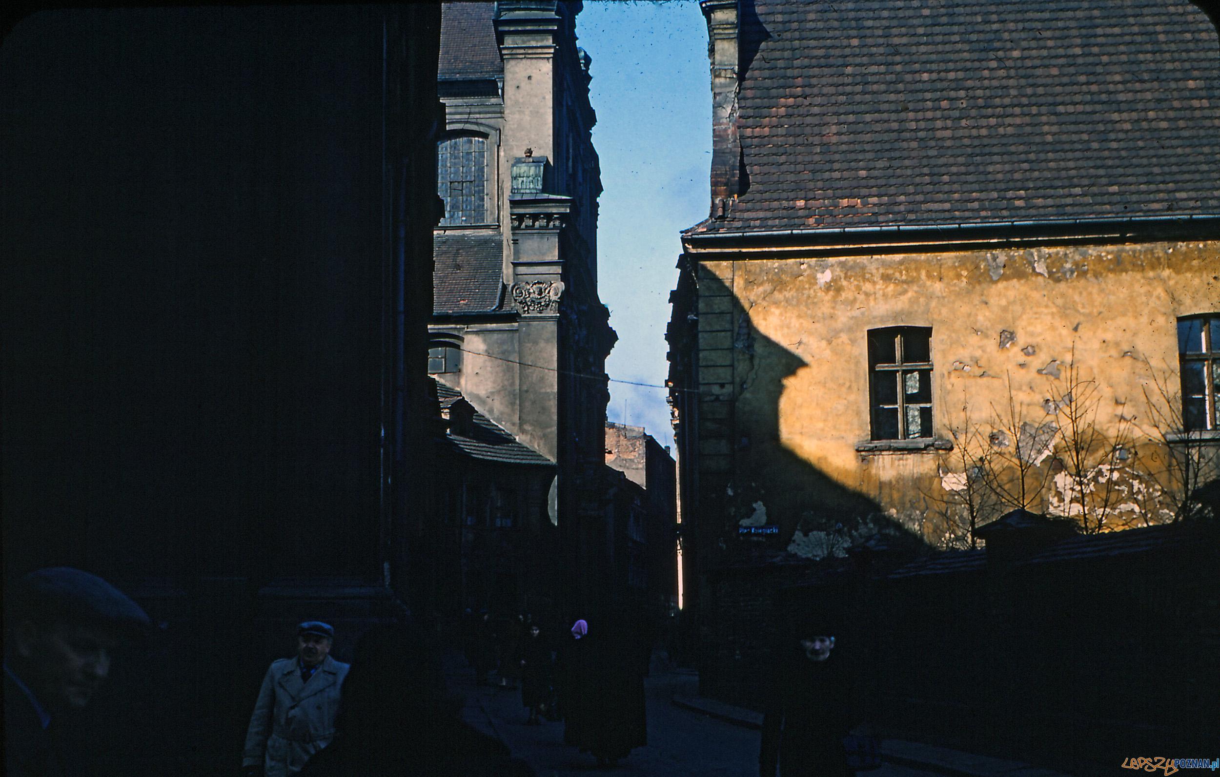 Gołębia - koniec lat 50-tych  Foto: Mogens Tørsleff, kolekcja Gorma Rudschinata / Flickr / CC