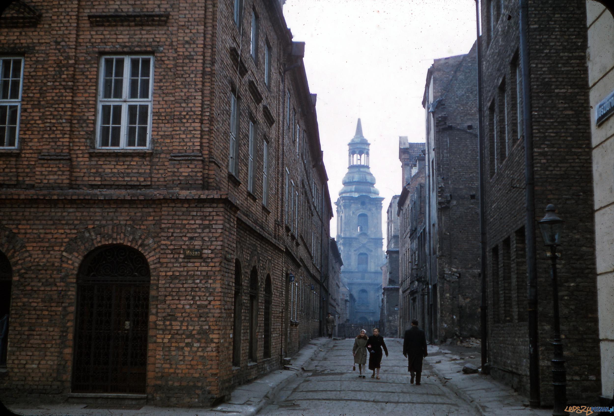 Klasztorna - koniec lat 50-tych  Foto: Gorm Helge Grønli Rudschinat / Flickr / CC