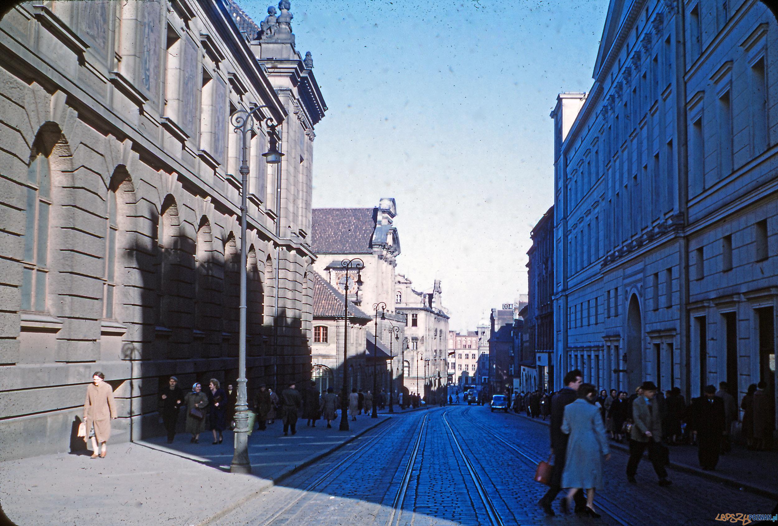Paderewskiego - koniec lat 50-tych  Foto: Mogens Tørsleff, kolekcja Gorma Rudschinata / Flickr / CC