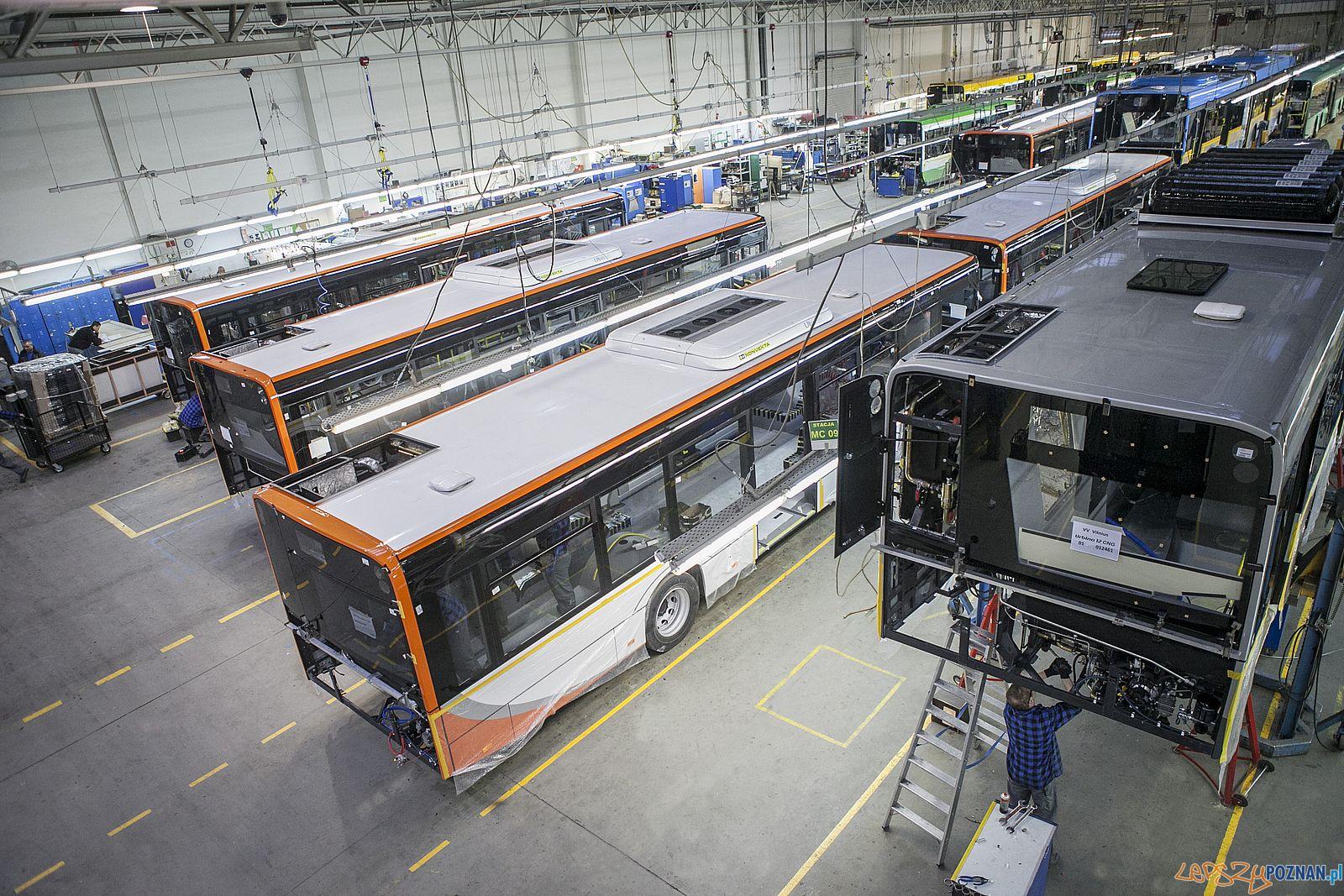 Solaris – Fabryka Bolechowo, montaż autobusów