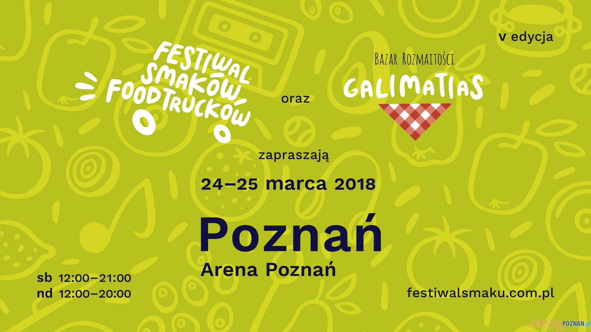 V edycja Festiwalu Smaków Food Trucków w Poznaniu  Foto: materiały prasowe