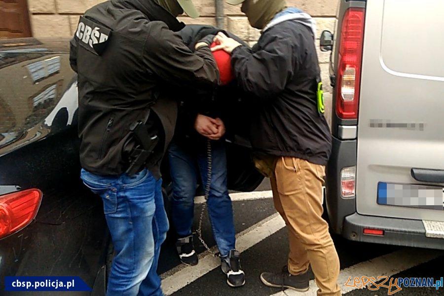 Narkotyki w ZK - akcja policji (1)  Foto: materiały Policji