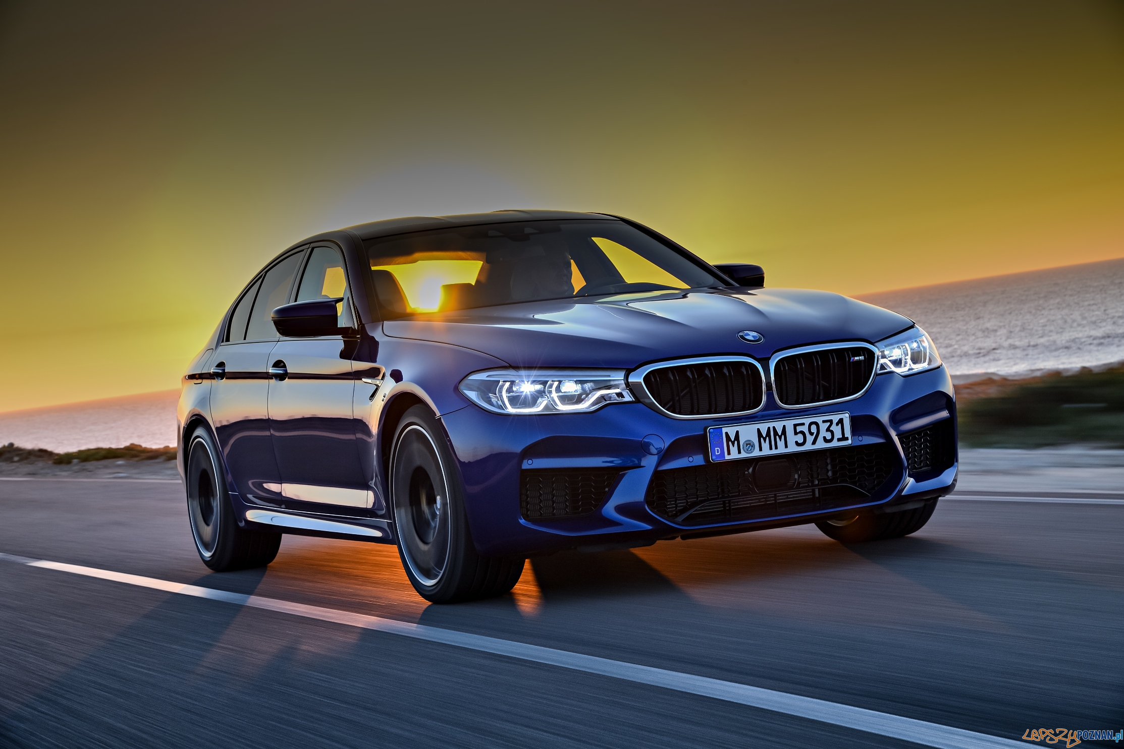 BMW m5  Foto: MTP / materiały prasowe