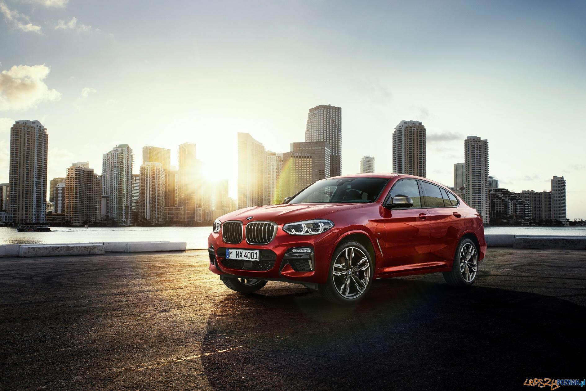 BMW X4 xDrive M40d  Foto: BMW AG / MTP / materiały prasowe