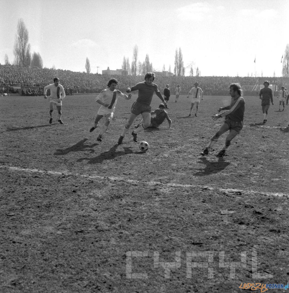 Debiec stadion Lech Poznan Stal Mielec 12.03.1978 S.Wiktor Cyryl (6)  Foto: Stanisław Wiktor / Cyryl