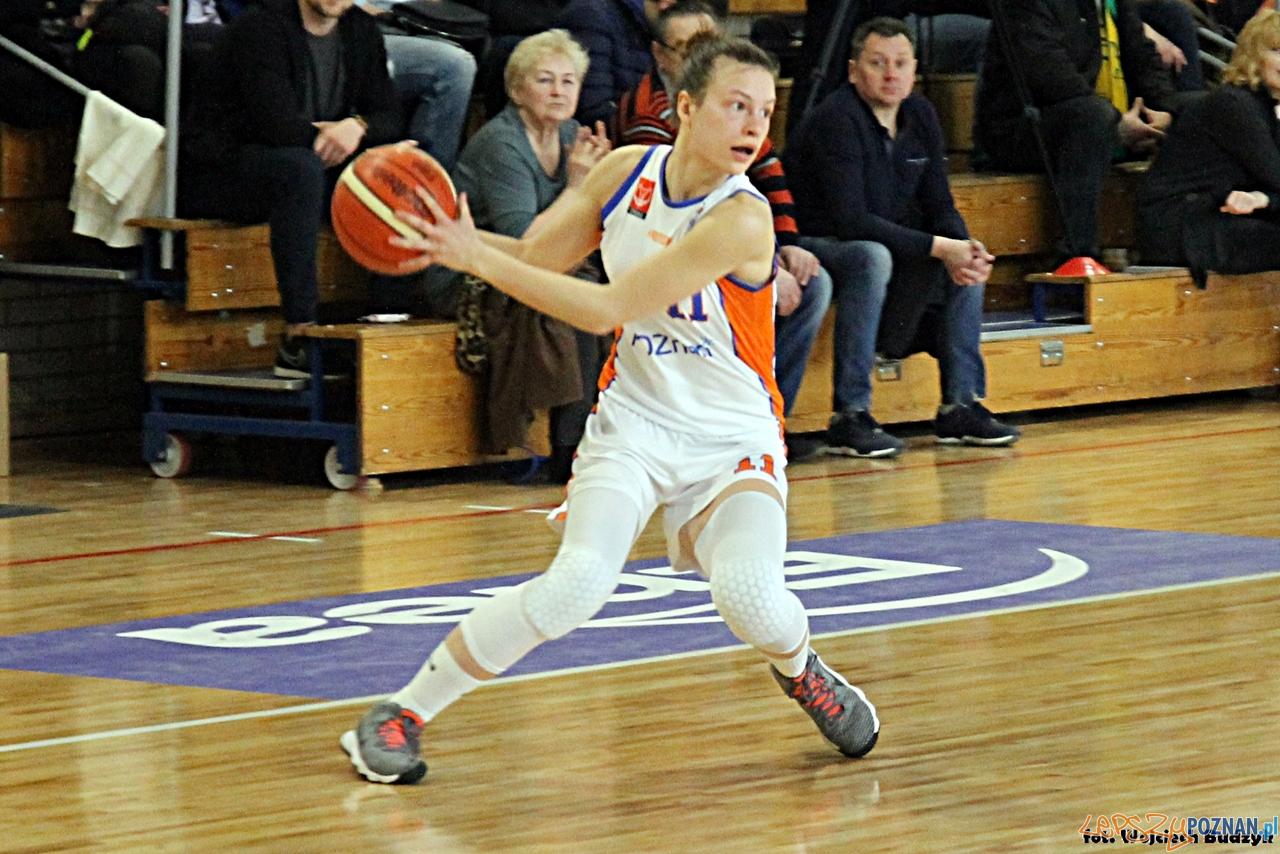 Pomarańczarnia MUKS Poznań - Tęcza Leszno (65:59) - Poznań 1  Foto: Budzik Poznański / Wojciech Budzik