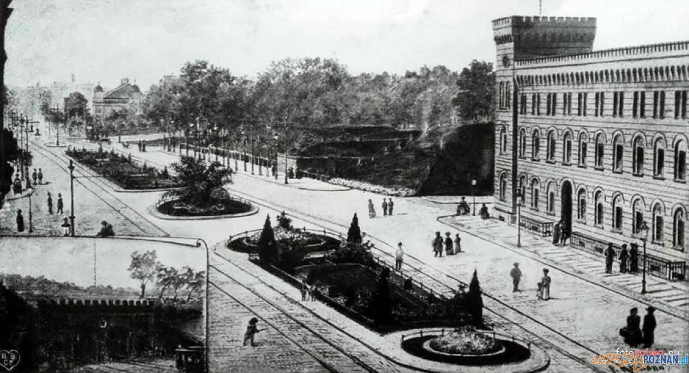 Święty Marcin 1904 - po likwidacji Bramuy Berlinskiej  Foto: Kronika Miasta Poznania