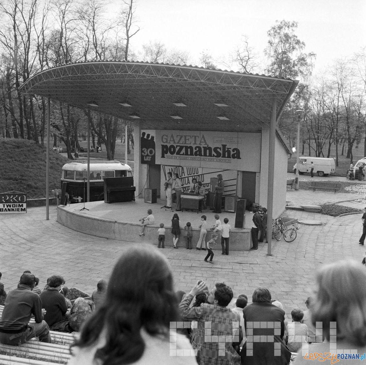 Amfiteatr Park Tysiaclecia – 30 lat Gazeta Poznanska 10.05.75