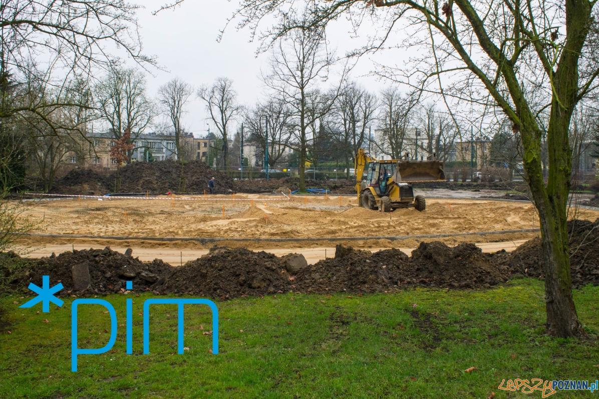 Park Wodziczki - prace maj 2018  Foto: Poznańskie Inwestycje Miejskie