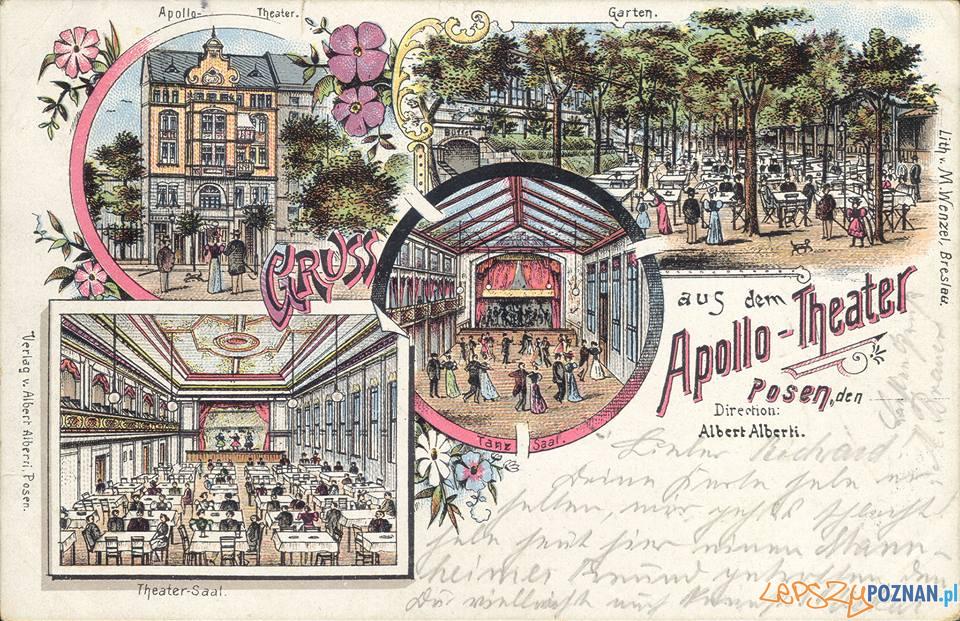 Apollo Teather 1899  Foto: Biblioteka Uniwersytecka