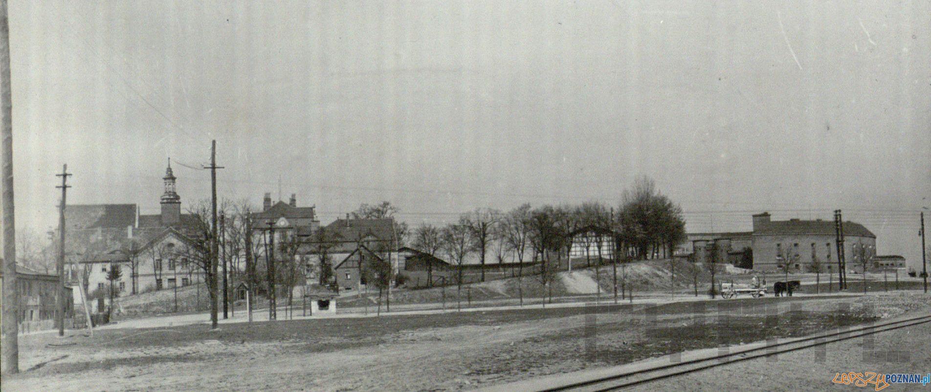 Środka i Fort Reformatów lata 20  Foto: Archiwum Ośrodka dla Głuchoniemych / Cyryl