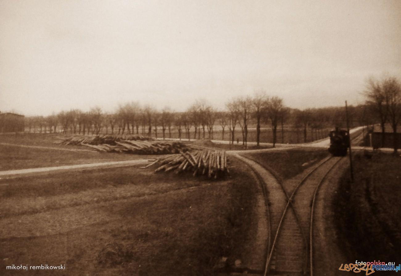 Malta 1910-20 Bocznica w kierunku Bramy Warszawskiej  Foto: fotopolska