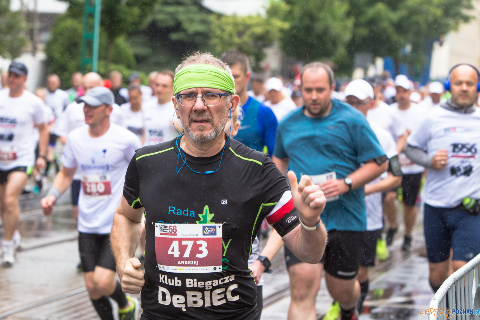 Bieg Lotto Poznański Czerwiec '56  Foto: lepszyPOZNAN.pl/Piotr Rychter