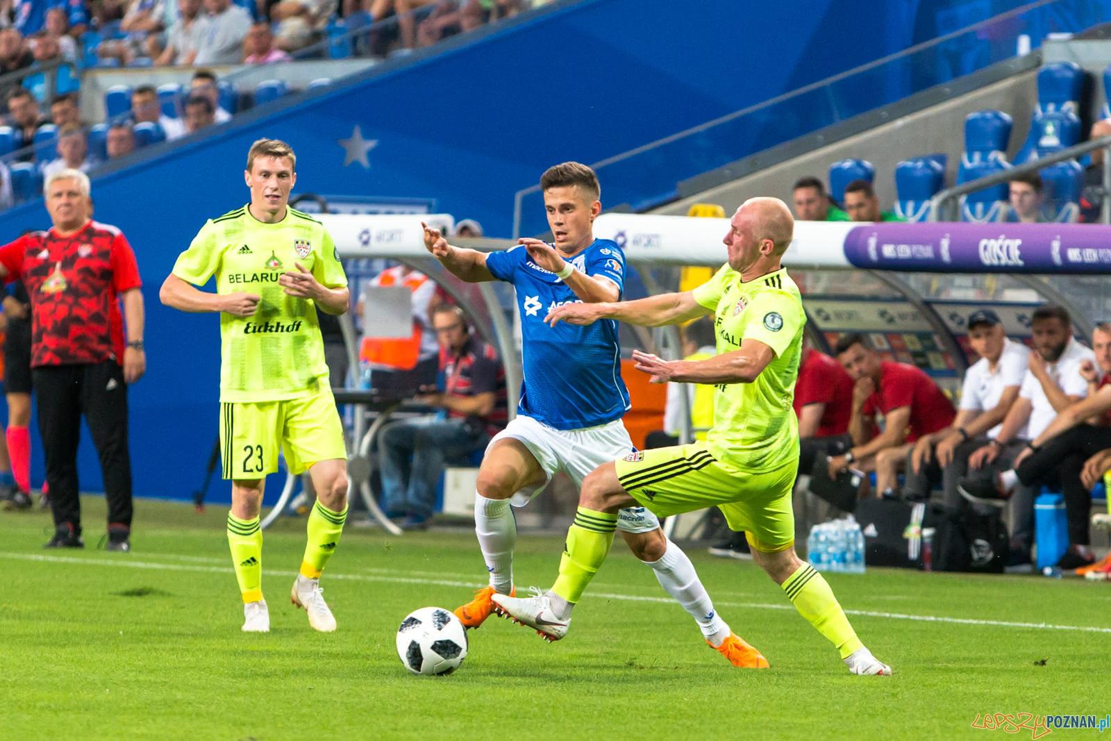 Lech Poznań - FC Shakhtyor Soligorsk (Vladimir Kostevych)  Foto: lepszyPOZNAN.pl/Piotr Rychter