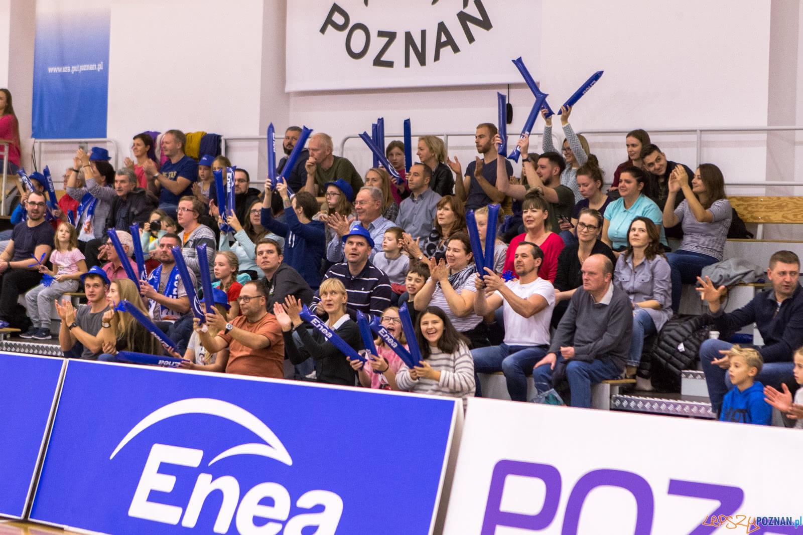Enea AZS Poznań – Widzew Toruń 81:70 - Poznań 26.10.2018 r.  Foto: LepszyPOZNAN.pl / Paweł Rychter