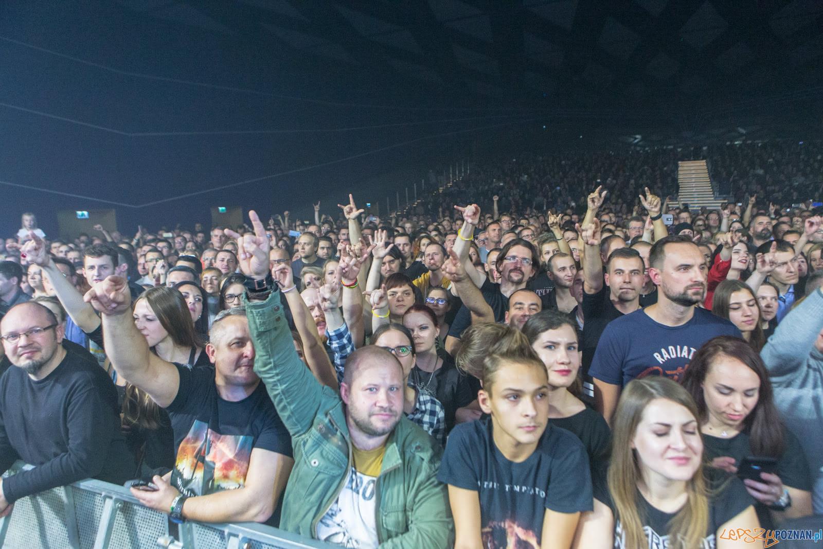 """Within Temptation w Sali Ziemi w ramach trasy """"The Resist Tour 2  Foto: LepszyPOZNAN.pl / Paweł Rychter"""