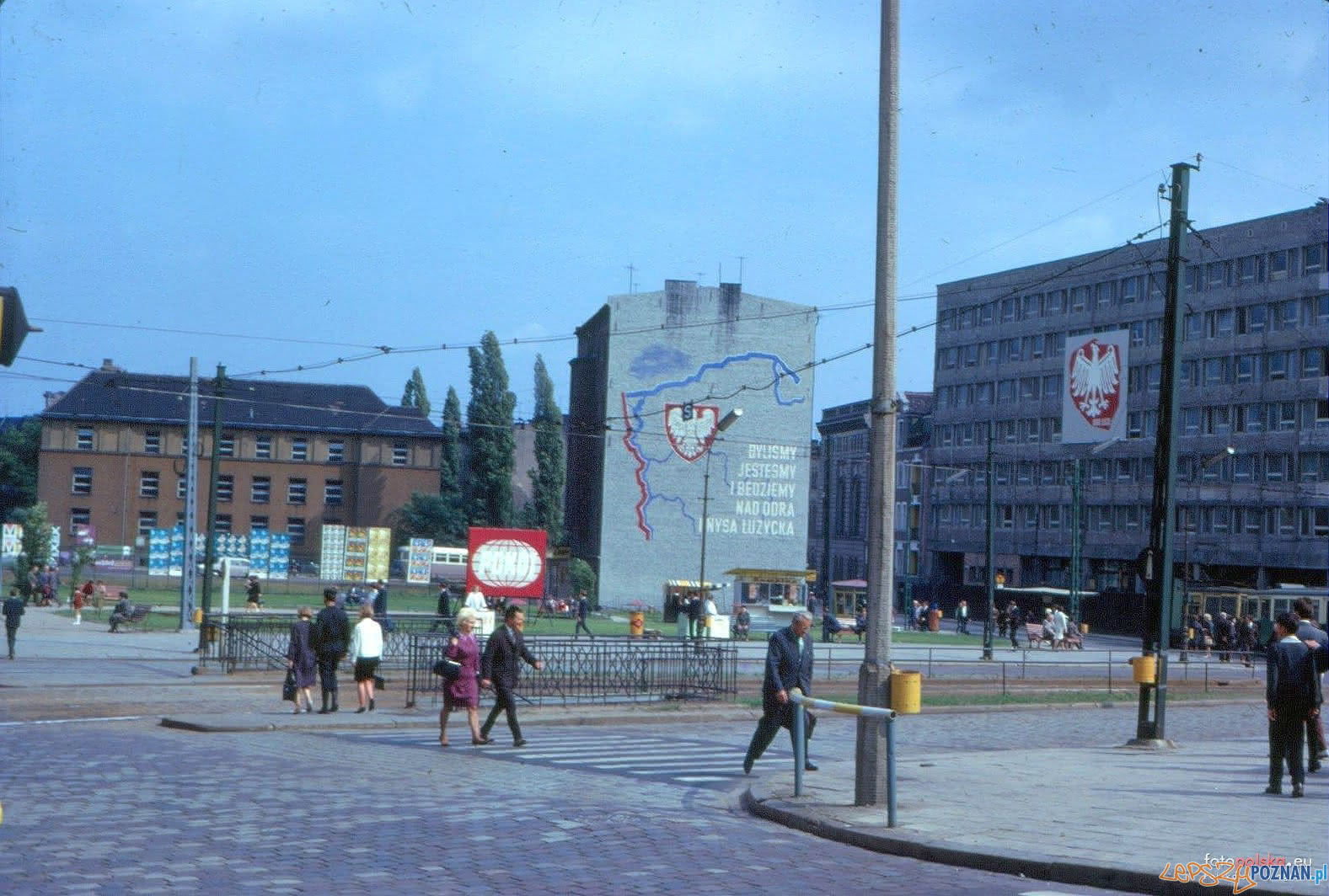 Plac Wiosny Ludow 1966  Foto: fotopolska.eu