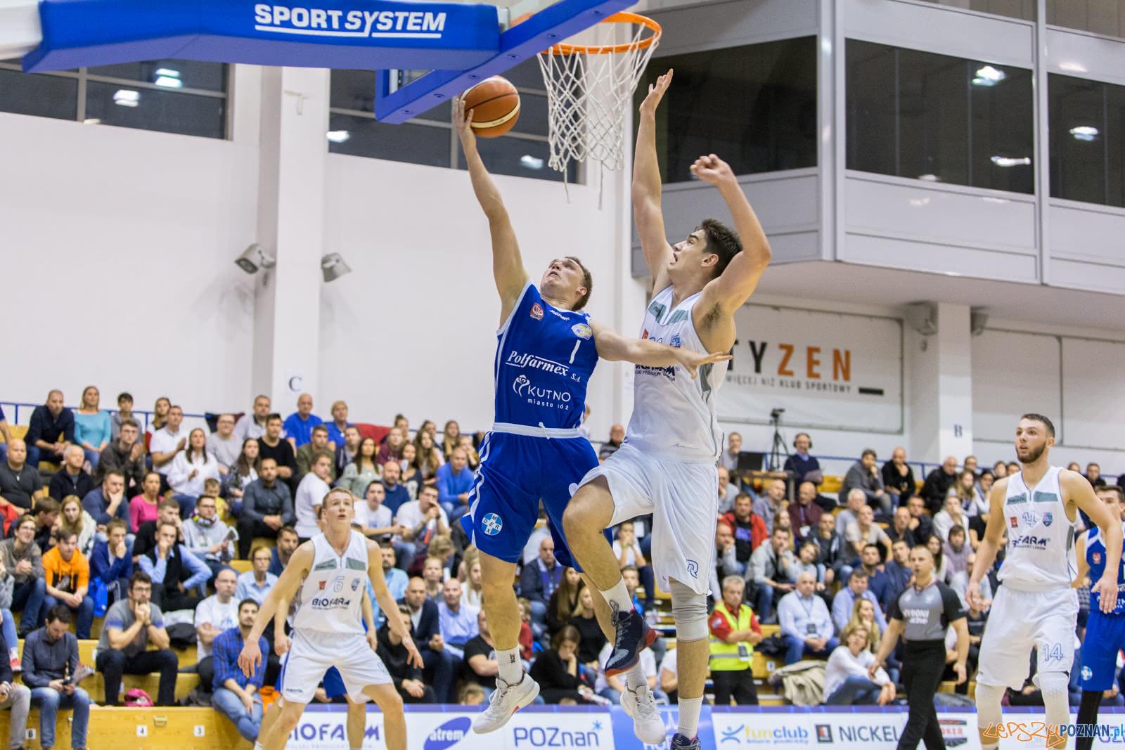 Biofarm Basket Poznań - Polfarmex Kutno 70:73 - Poznań 03.11.2  Foto: LepszyPOZNAN.pl / Paweł Rychter