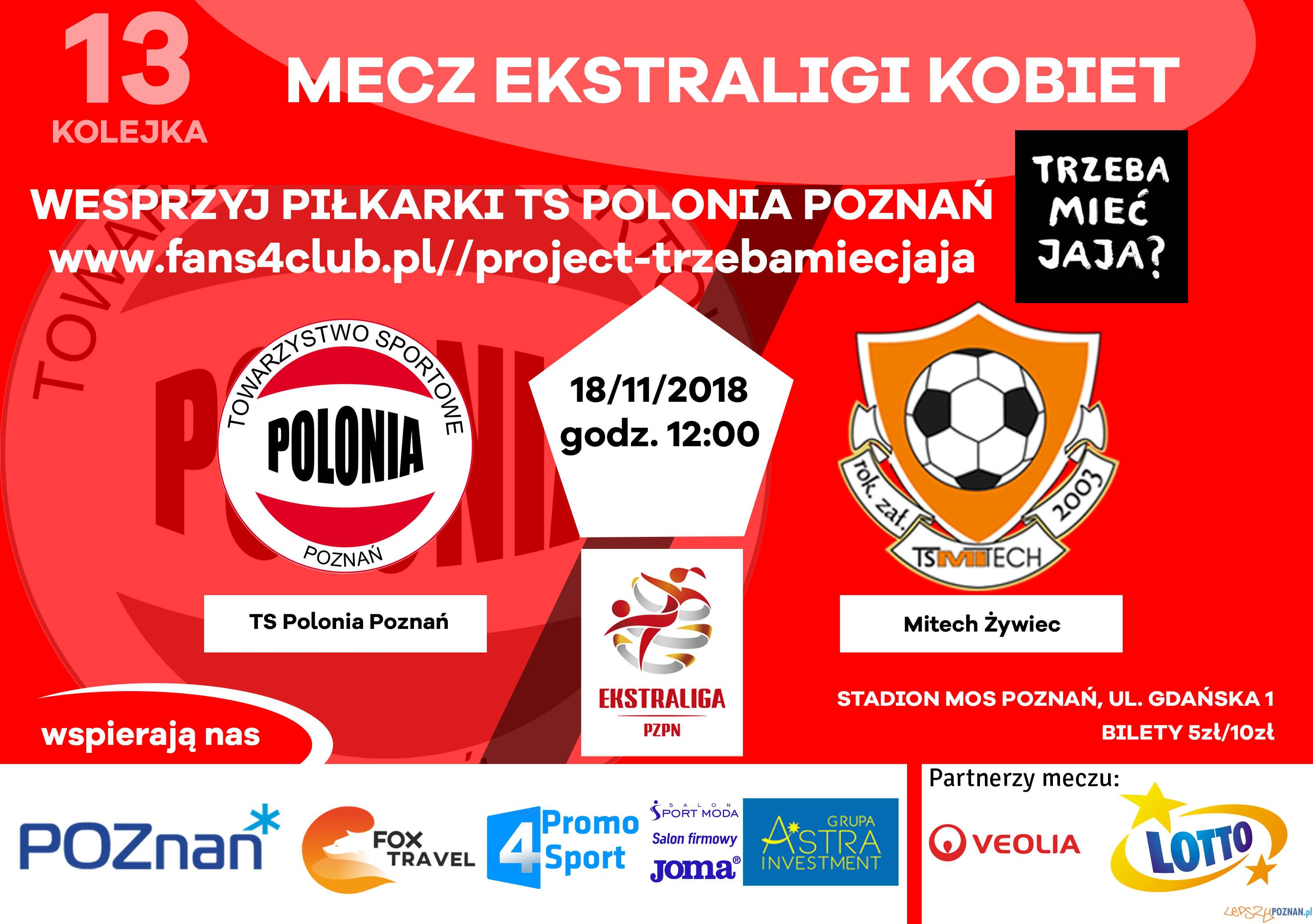 Polonia Poznań - plakat meczowy  Foto: materiały prasowe