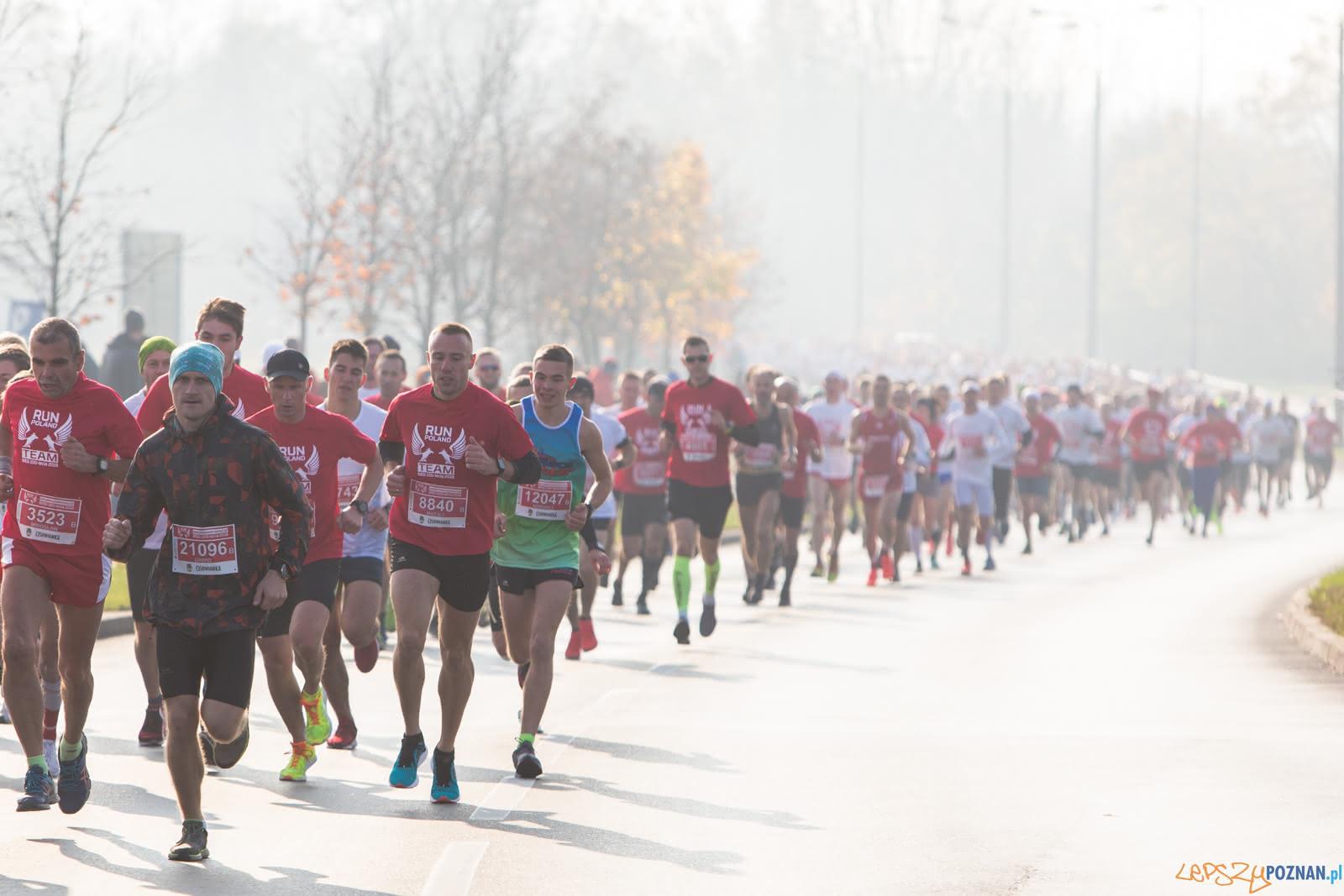 Bieg Niepodległości 2018 na 100-lecie odzyskania niepodległo  Foto: LepszyPOZNAN.pl / Paweł Rychter