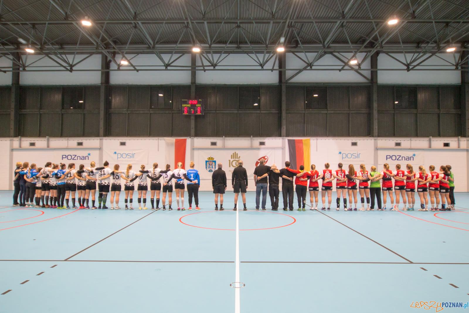 Towarzyskie spotkanie lub Sportowy AP Poznań – TV Hanover Bad  Foto: lepszyPOZNAN.pl/Piotr Rychter
