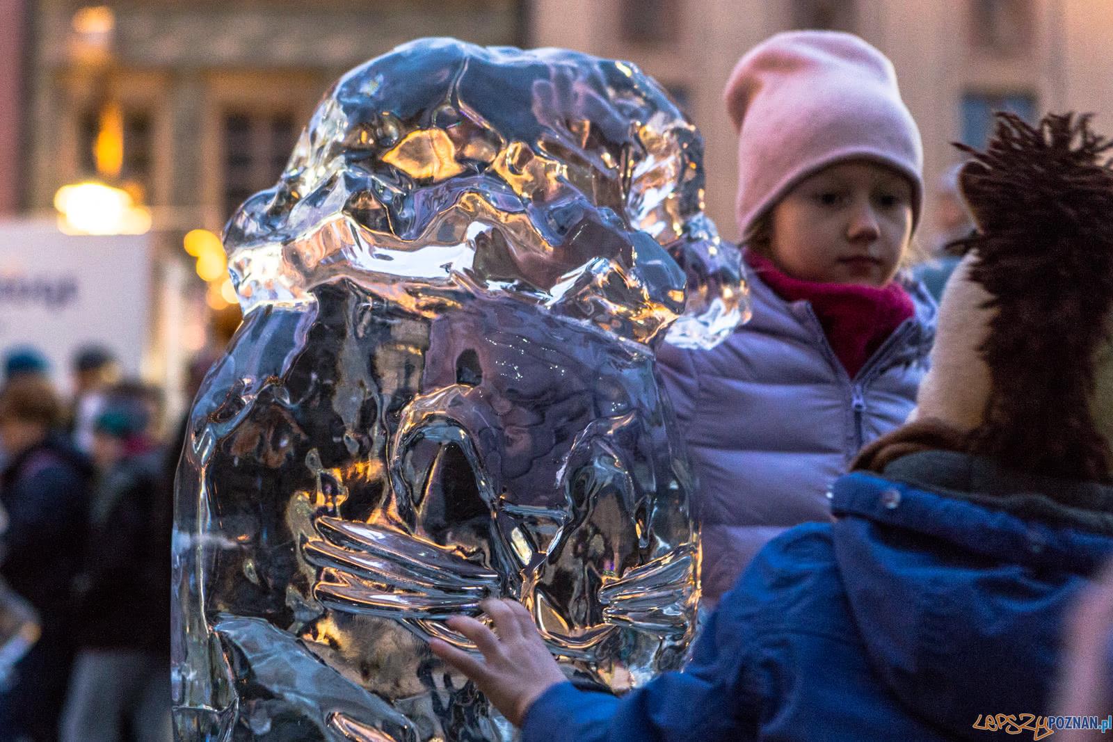 Poznan Ice Festival 2018 - Speed Ice Carving - Poznań 08.12.201  Foto: LepszyPOZNAN.pl / Paweł Rychter