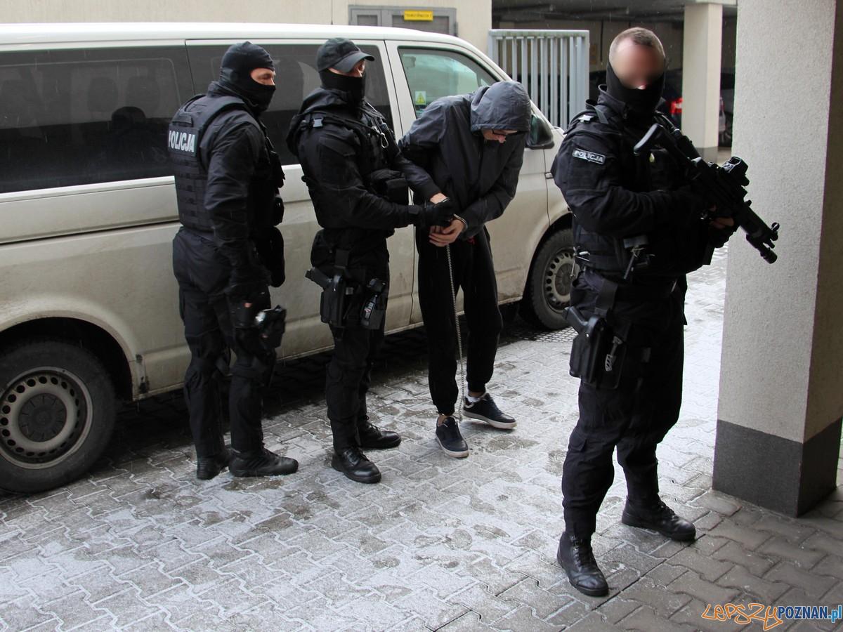 Akcja Policji  Foto: materiały prasowe wielkopolskiej Policji