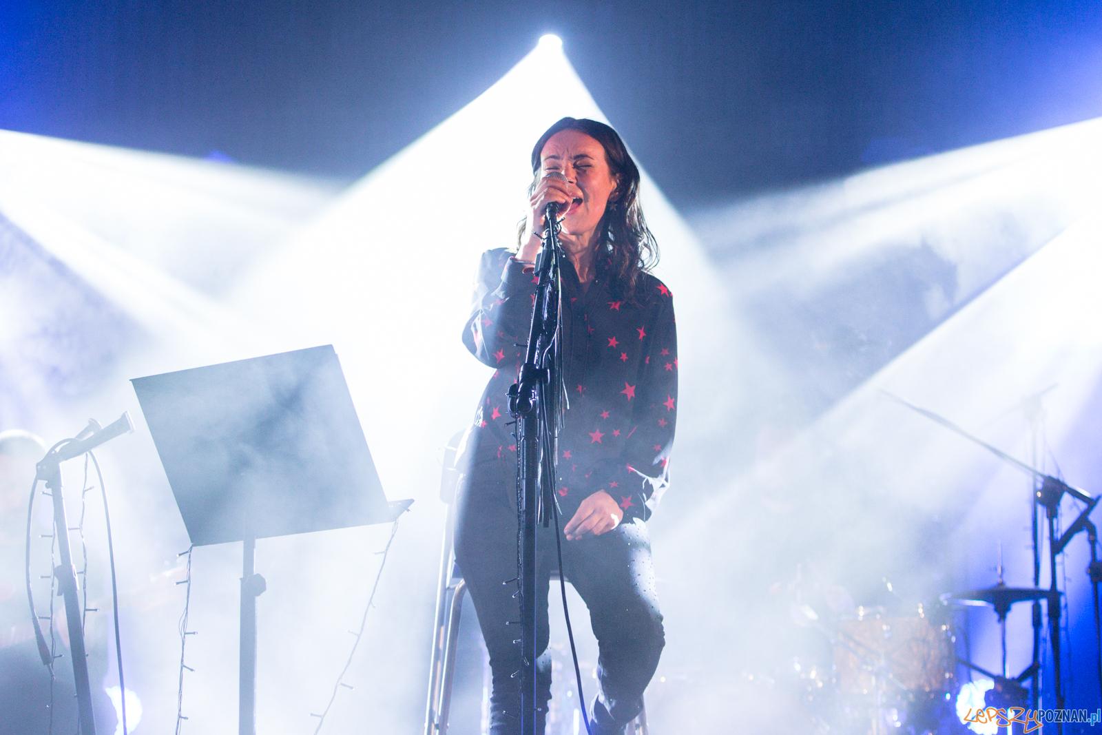 """Kasia Kowalska - """"Aya Tour""""Aula UAM - Poznań 19.02.2019 r.  Foto: LepszyPOZNAN.pl / Paweł Rychter"""