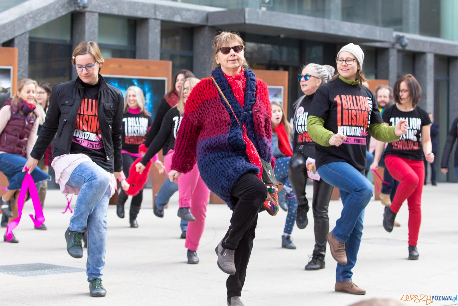 One Billion Rising  Foto: lepszyPOZNAN.pl/Piotr Rychter