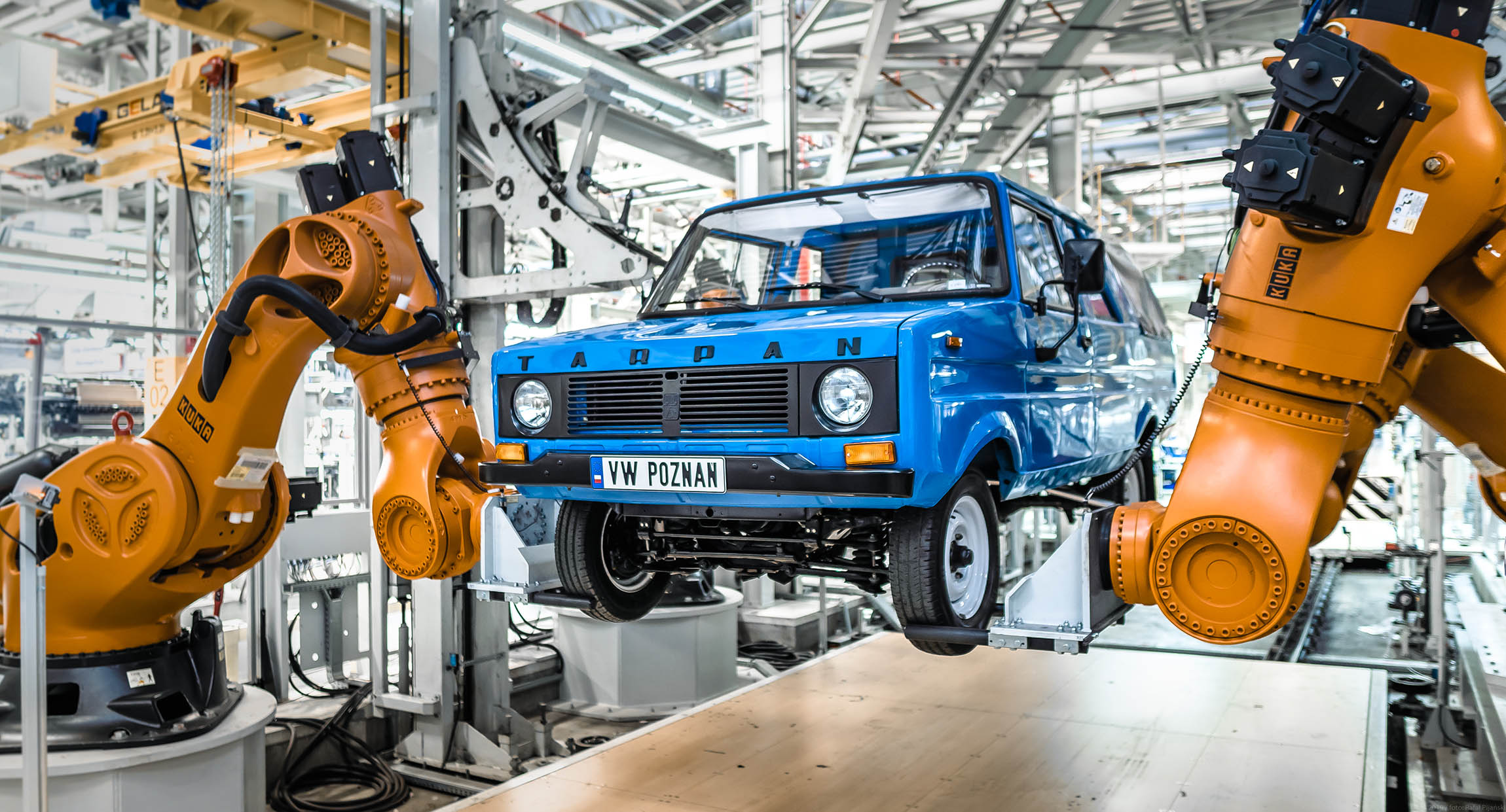 Tarpan w fabryce Volkswagena-02591  Foto: KINETIK  / materiały prasowe VW Poznań