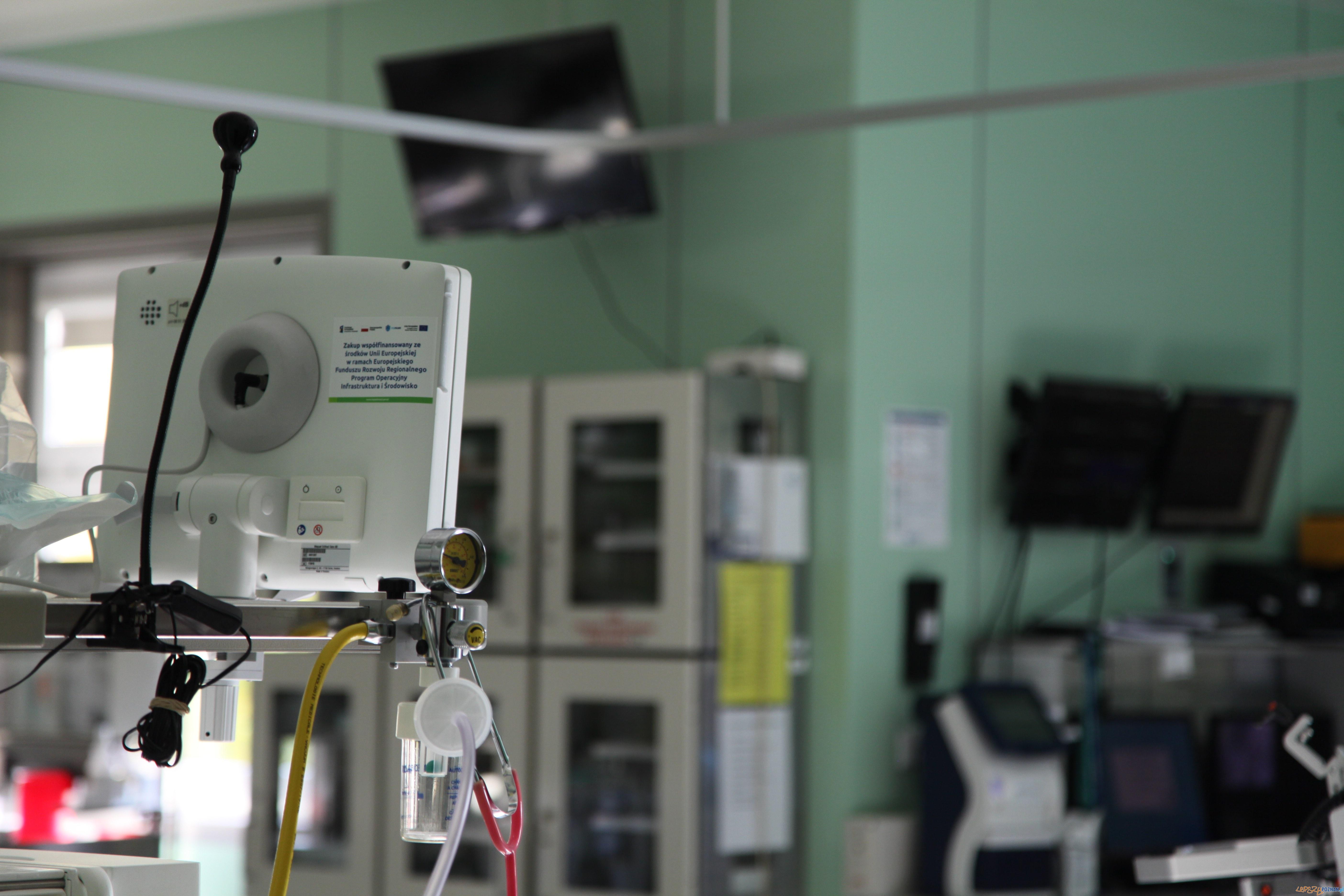 Sala zabiegowa szpital lekarze  Foto: materiały prasowe Szpitala Klinicznego nr 2