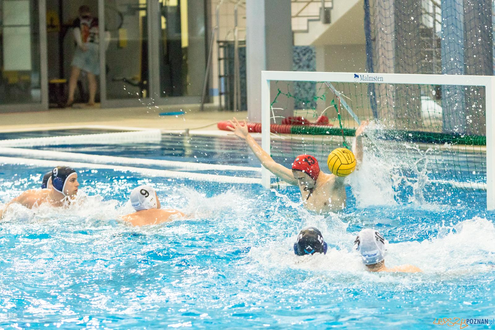 KS Waterpolo Poznań – OCMER ŁSTW Łódź  Foto: lepszyPOZNAN.pl/Piotr Rychter