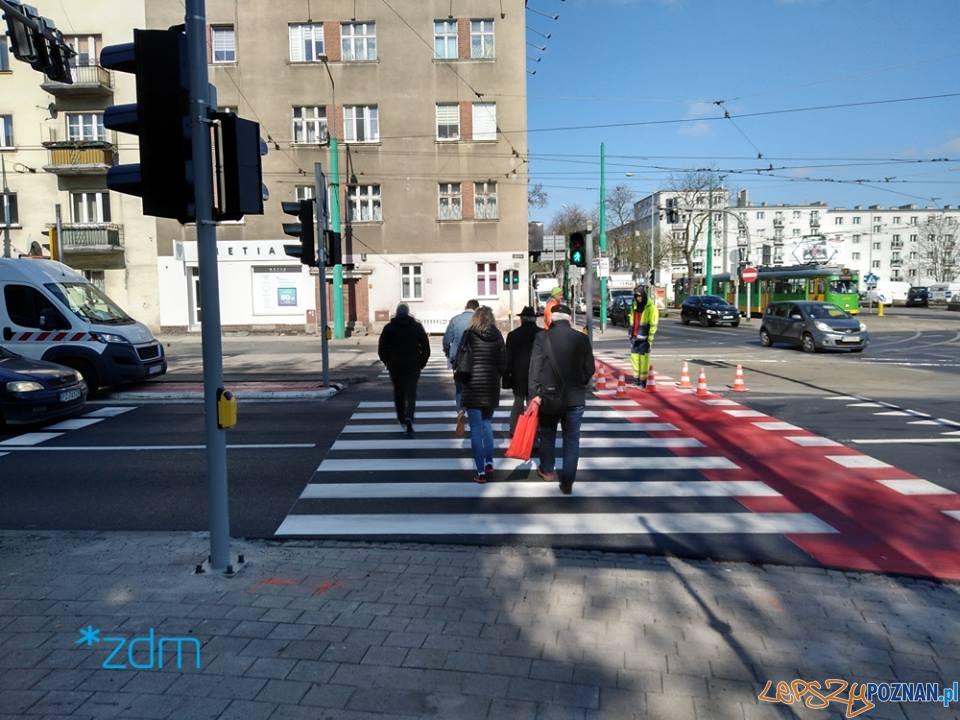 Głogowska - Hetmańska - przejście dla pieszych  Foto: ZDM