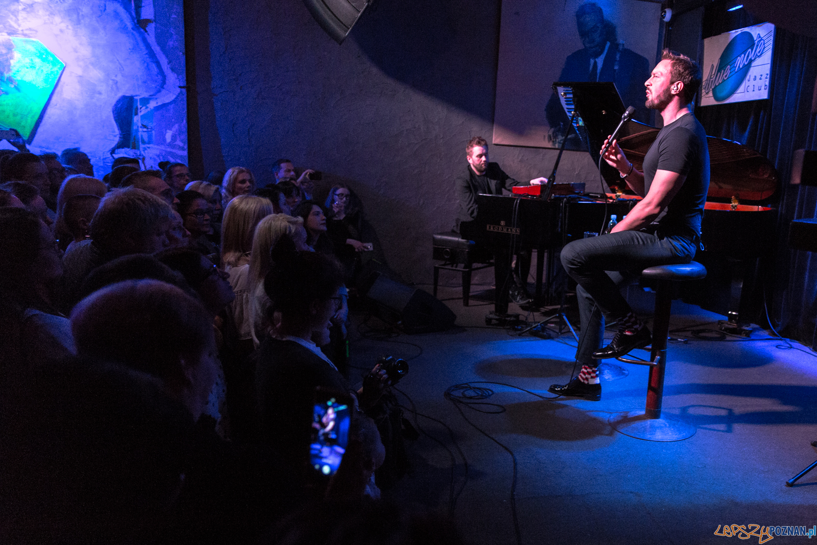 Sławek Uniatowski w klubie Blue Note - Poznań 10.04.2019 r.  Foto: LepszyPOZNAN.pl / Paweł Rychter