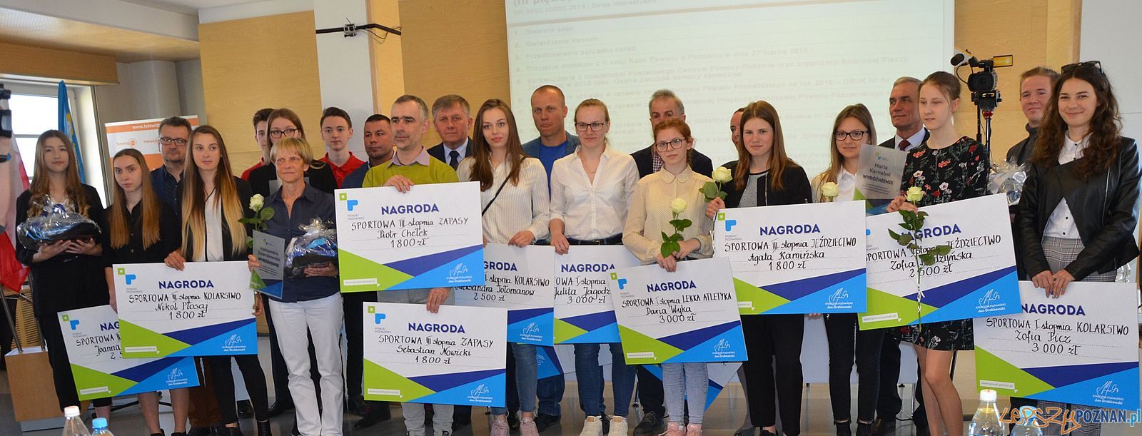 Najlepsi sportowcy Powiatu Poznańskiego  Foto: materiały prasowe