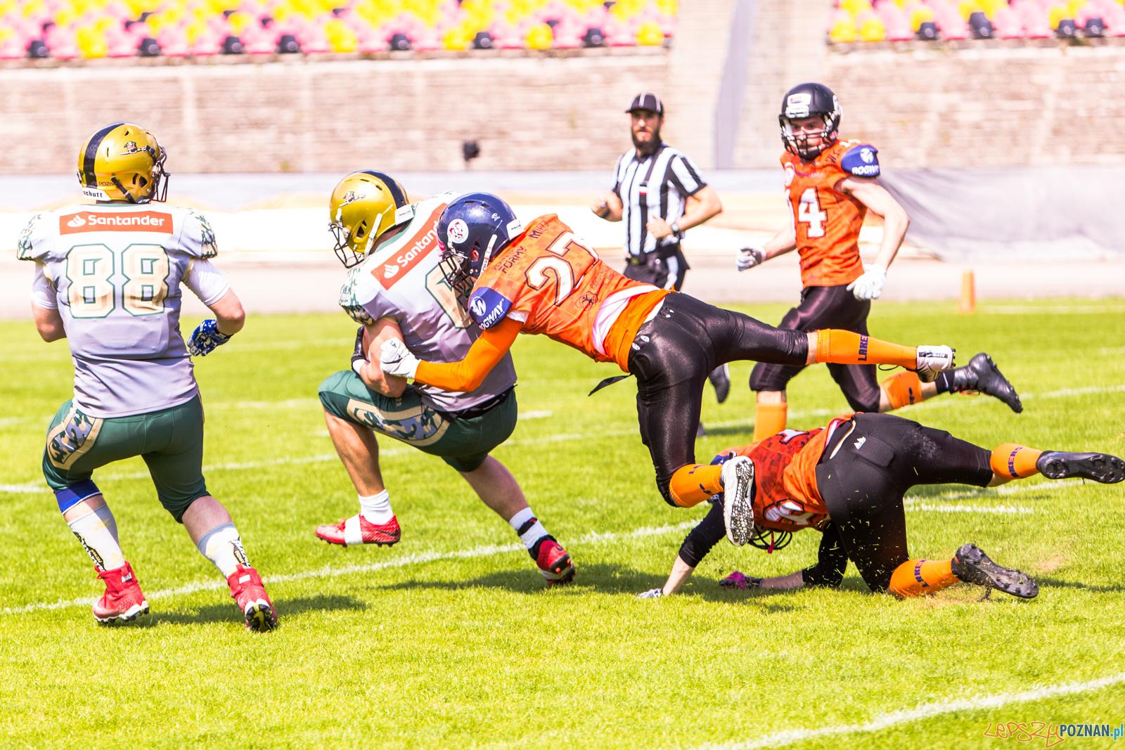 Futbol amerykański: Armia Poznań - Olsztyn Lakers 45:21 - Pozn  Foto: LepszyPOZNAN.pl / Paweł Rychter