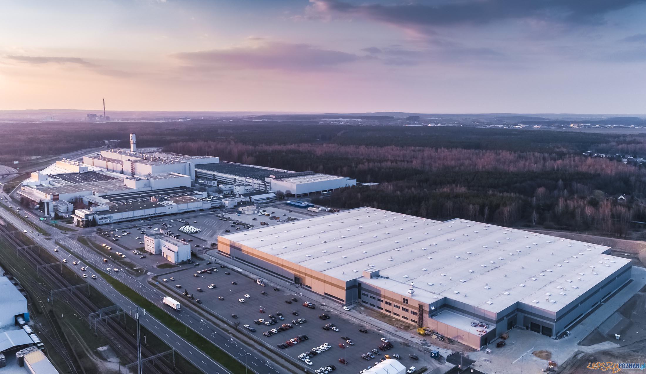 Nowa hala Volkswagena  Foto: Eiffage / materiały prasowe