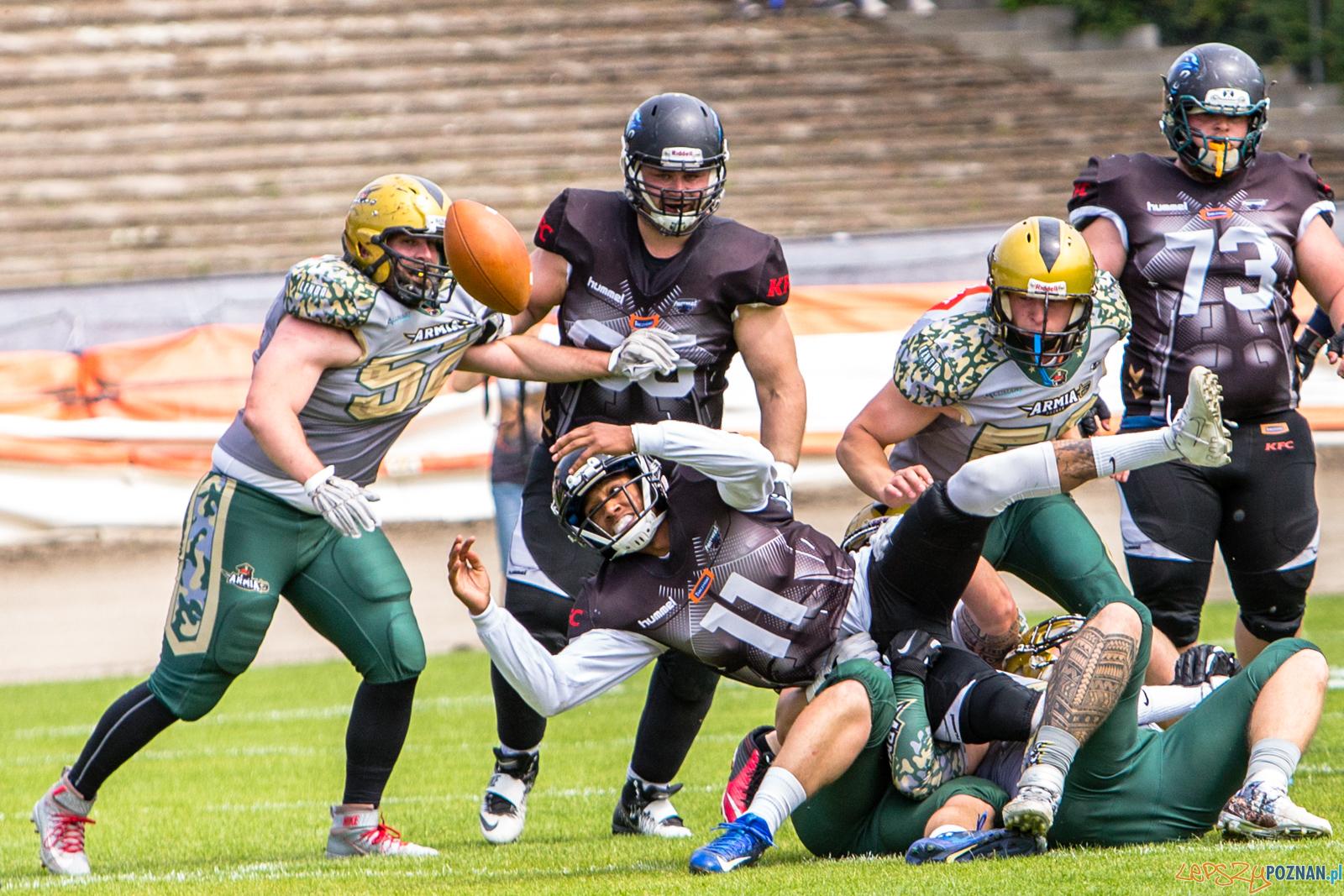 Armia Poznań - Wrocław Panthers 14:42 - Poznań 2.06.2019 r.  Foto: LepszyPOZNAN.pl / Paweł Rychter