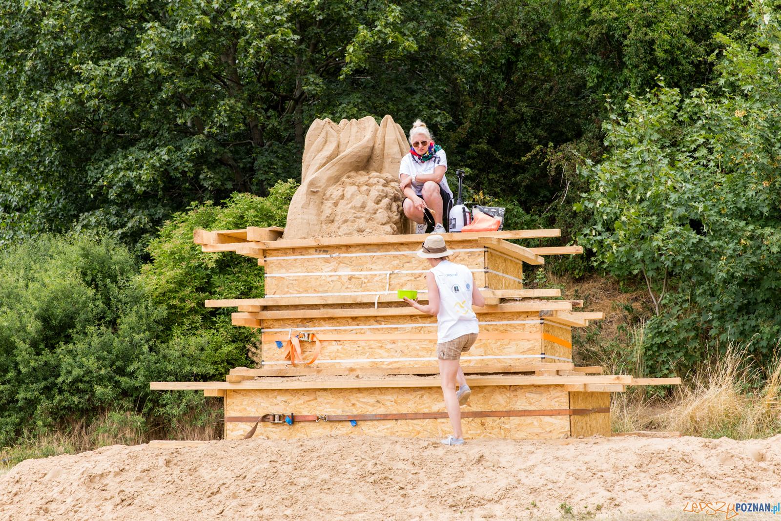 Poznań Sand Festival 2019, czyli Festiwalu Rzeźby Piaskowej -  Foto: LepszyPOZNAN.pl / Paweł Rychter
