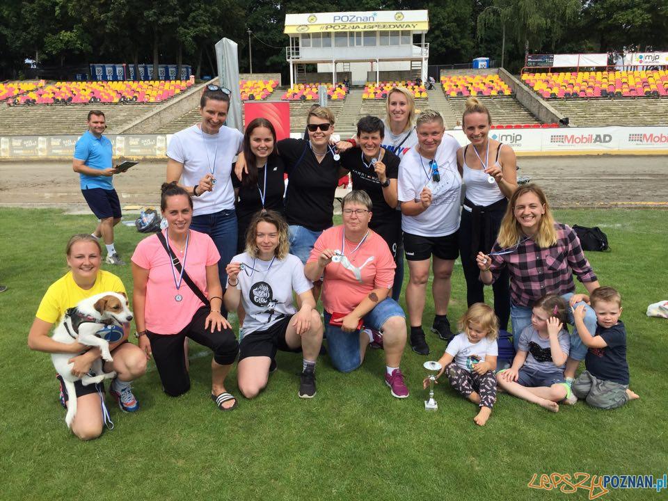III miejsce - Babskie Granie 30+ turniej piłki nożnej kobiet  Foto: KU AZS UAM