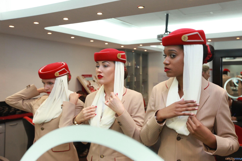 personel pokładowy Emirates  Foto: materiały prasowe