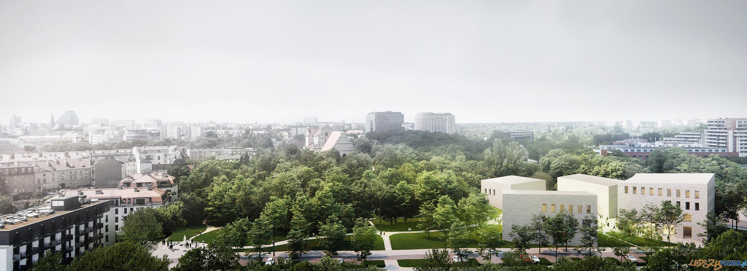 koncepcja nowej siedziby Muzeum Powstania Wielkopolskiego w Poznaniu PTAKA zmniejszony  Foto: materiały prasowe / WXCA