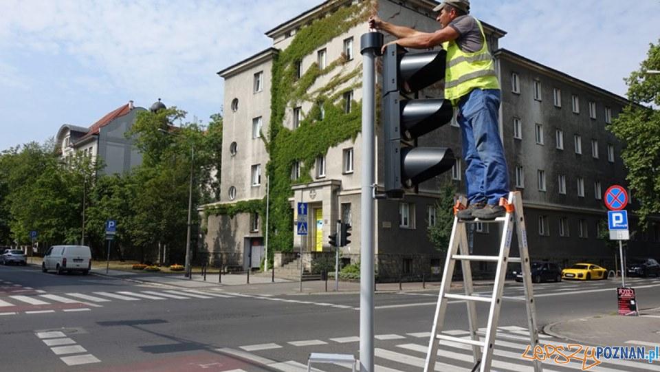 Kościuszki - sygnalizacja świetlna  Foto: ZDM