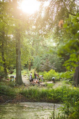 Ogród Dendrologiczny - Mood for Wood  Foto: Dawid Majewski Uniwersytet Przyrodniczy - materiały prasowe