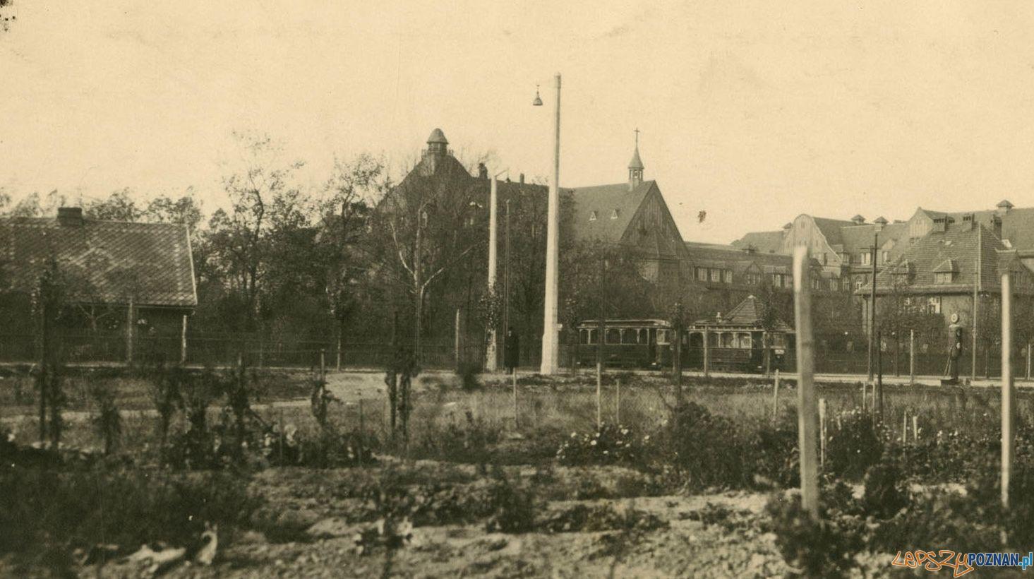 Przybyszewskiego Szpital Diakonsek 1924  Foto: Cyryl / archiwum rodziny Firynów i Świetlików