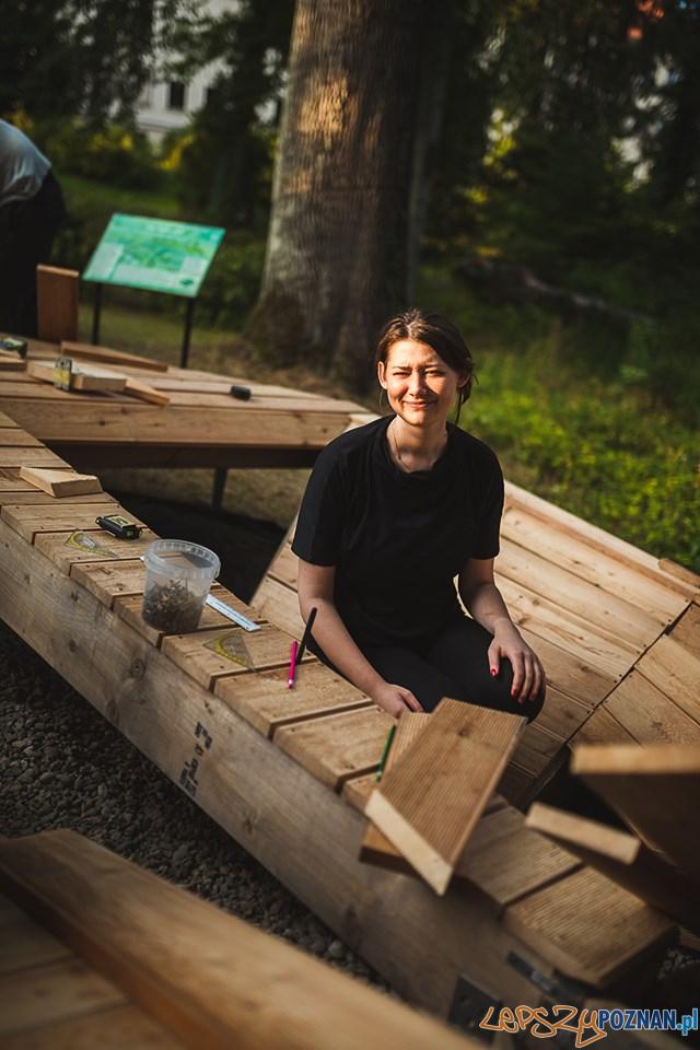 Ogród Dendrologiczny - Mood for Wood  Foto: Dawid_Majewski Uniwersytet Przyrodniczy - materiały prasowe